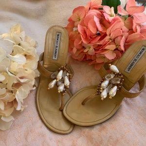 Used  Manolo Blahnik shoes.